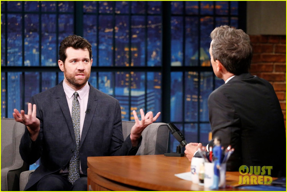 billy eichner tells seth meyers american horror story cult is surreal take on post trump 033939601
