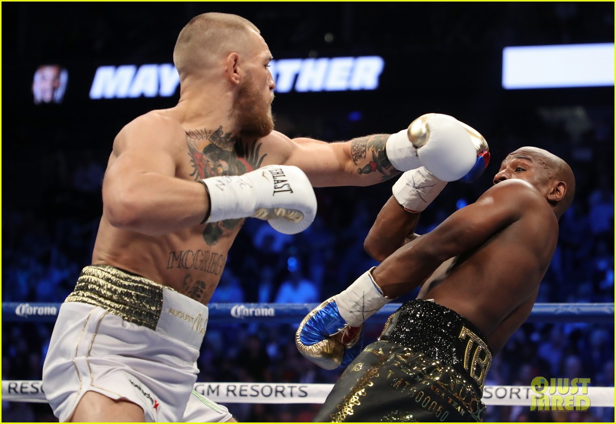 who won the mayweather vs mcgregor fight 113945977