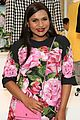 mindy kaling shows off baby bump at mindy project costume exhibit opening 01