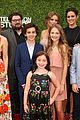 rob lowe son matthew join young sheldon cast at cbs summer tca soiree 10
