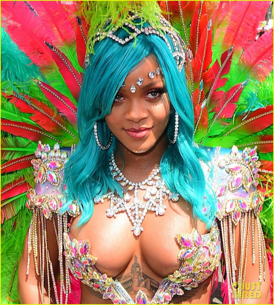 Rihanna barbados carnival 2013 not absolutely