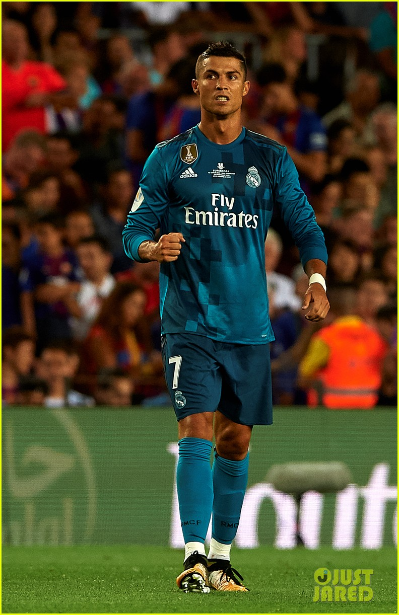 cristiano ronaldo suspended for five games after pushing ref 163941709