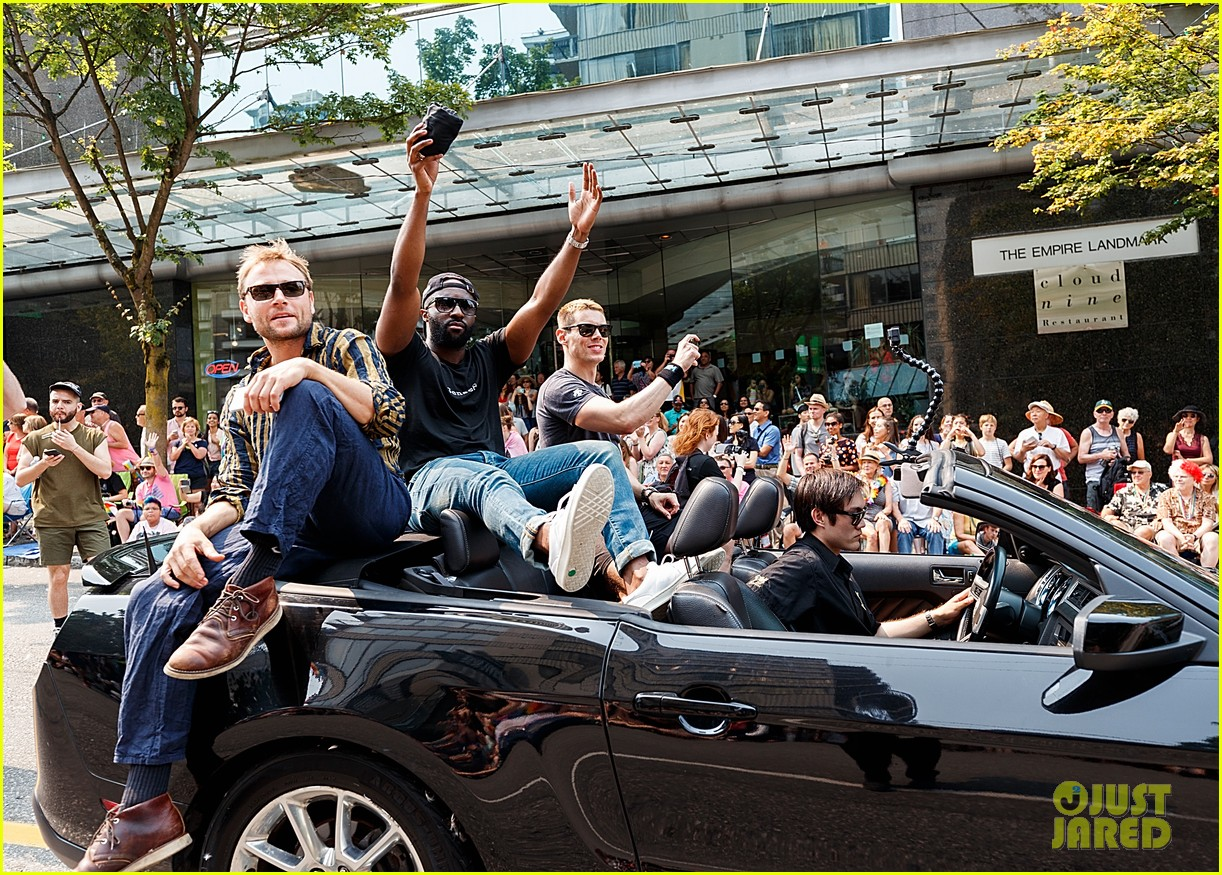 Sense8 Cast Gay Parade