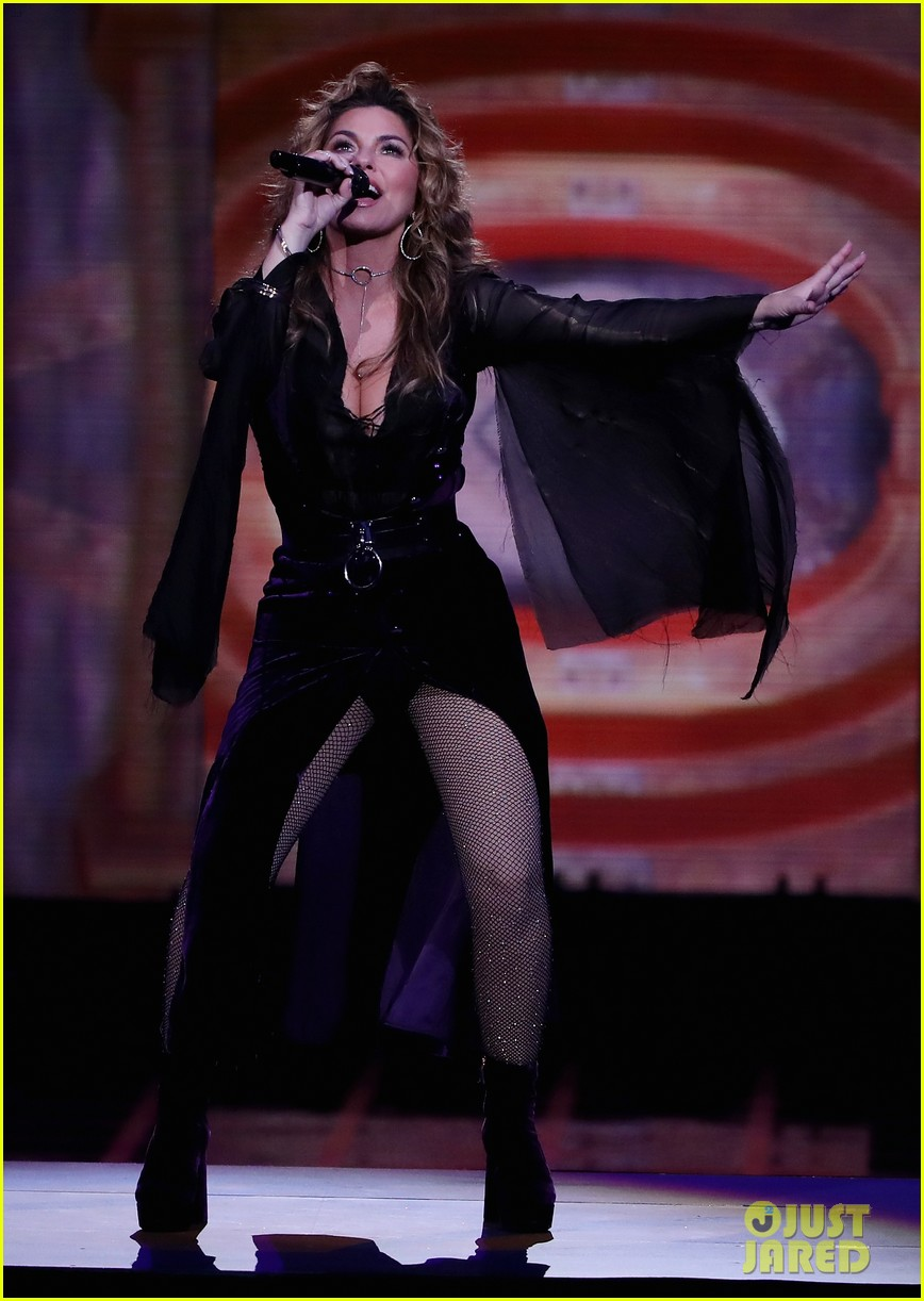 shania twaine us open performance 033947583