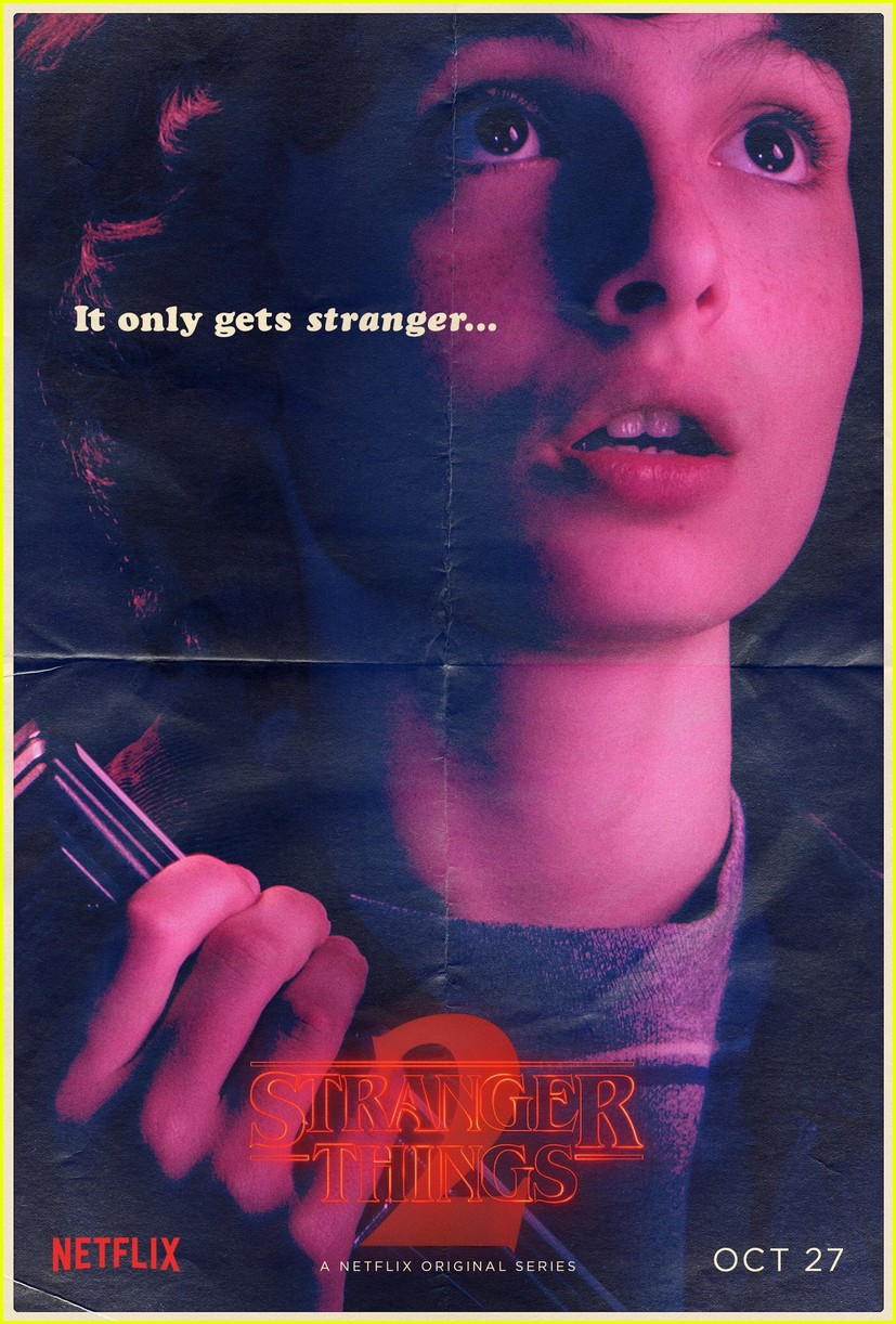 strangers things season 2 debuts new character posters 043946273