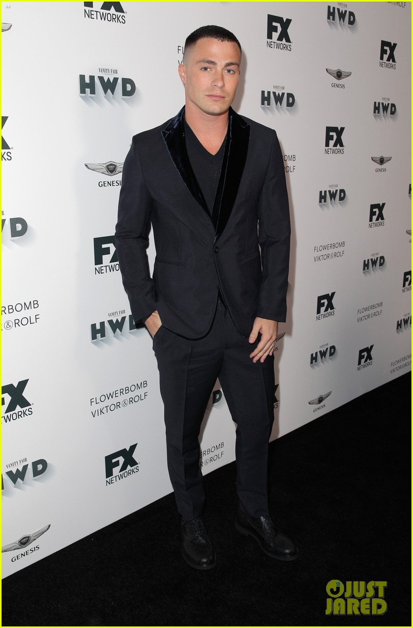 ryan murphy feud ahs casts attend pre emmys parties 063958628