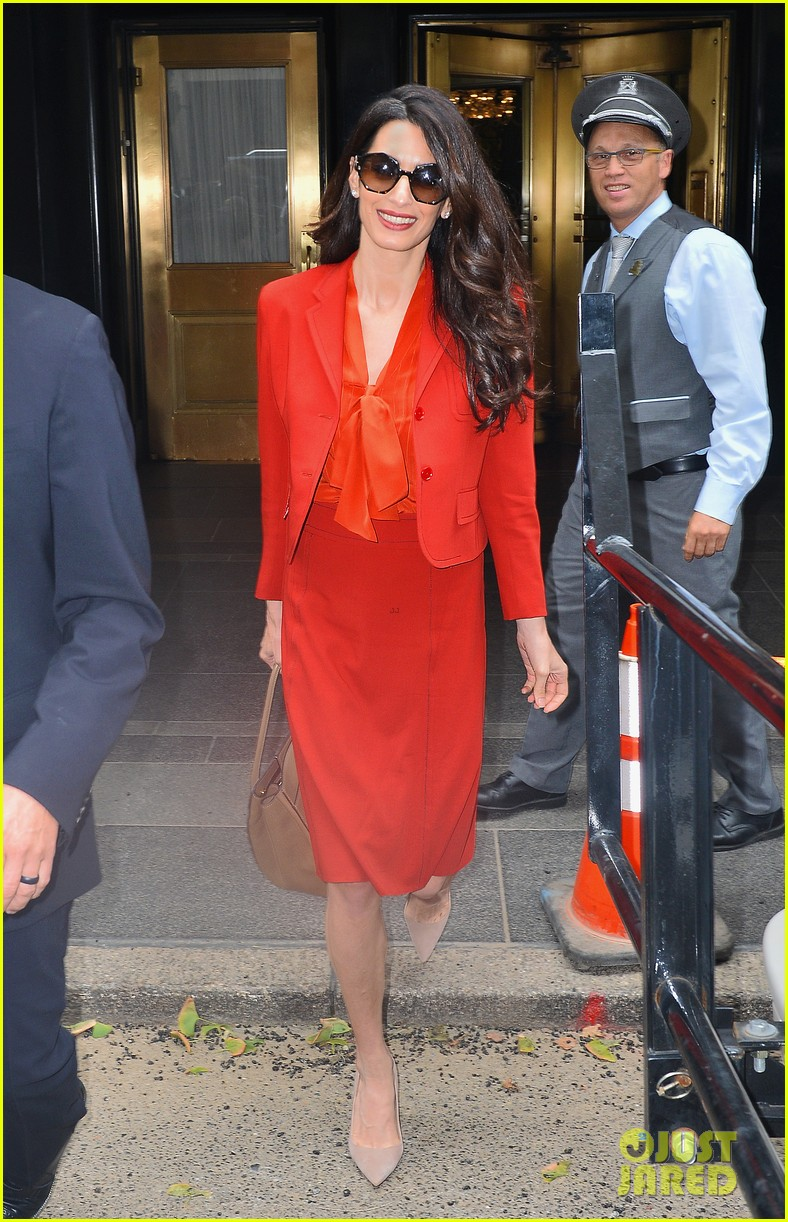 amal clooney is back at work after welcoming twins 013962298