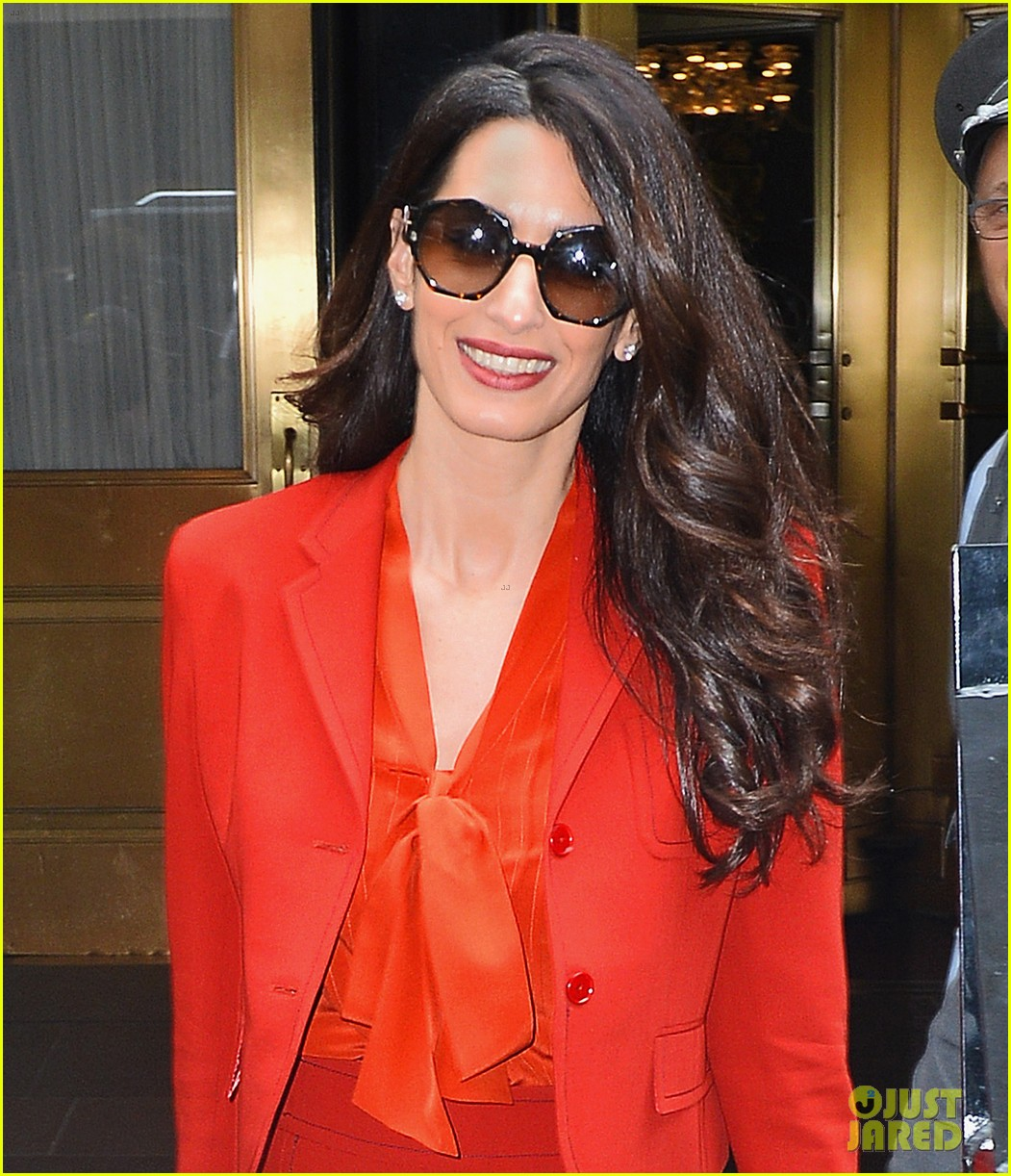 amal clooney is back at work after welcoming twins 043962301