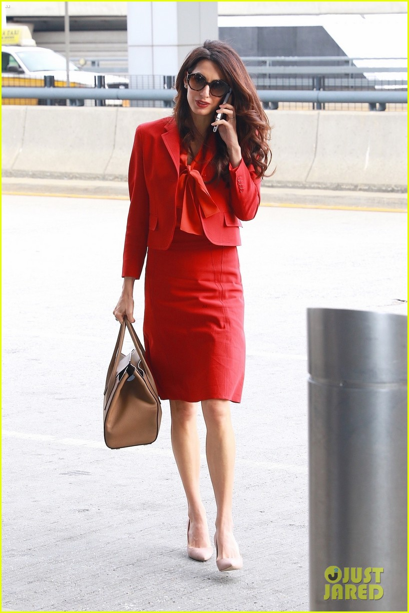 amal clooney is back at work after welcoming twins 053962302