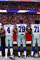 dallas cowboys take a knee during national anthem 03