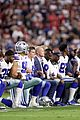 dallas cowboys take a knee during national anthem 05