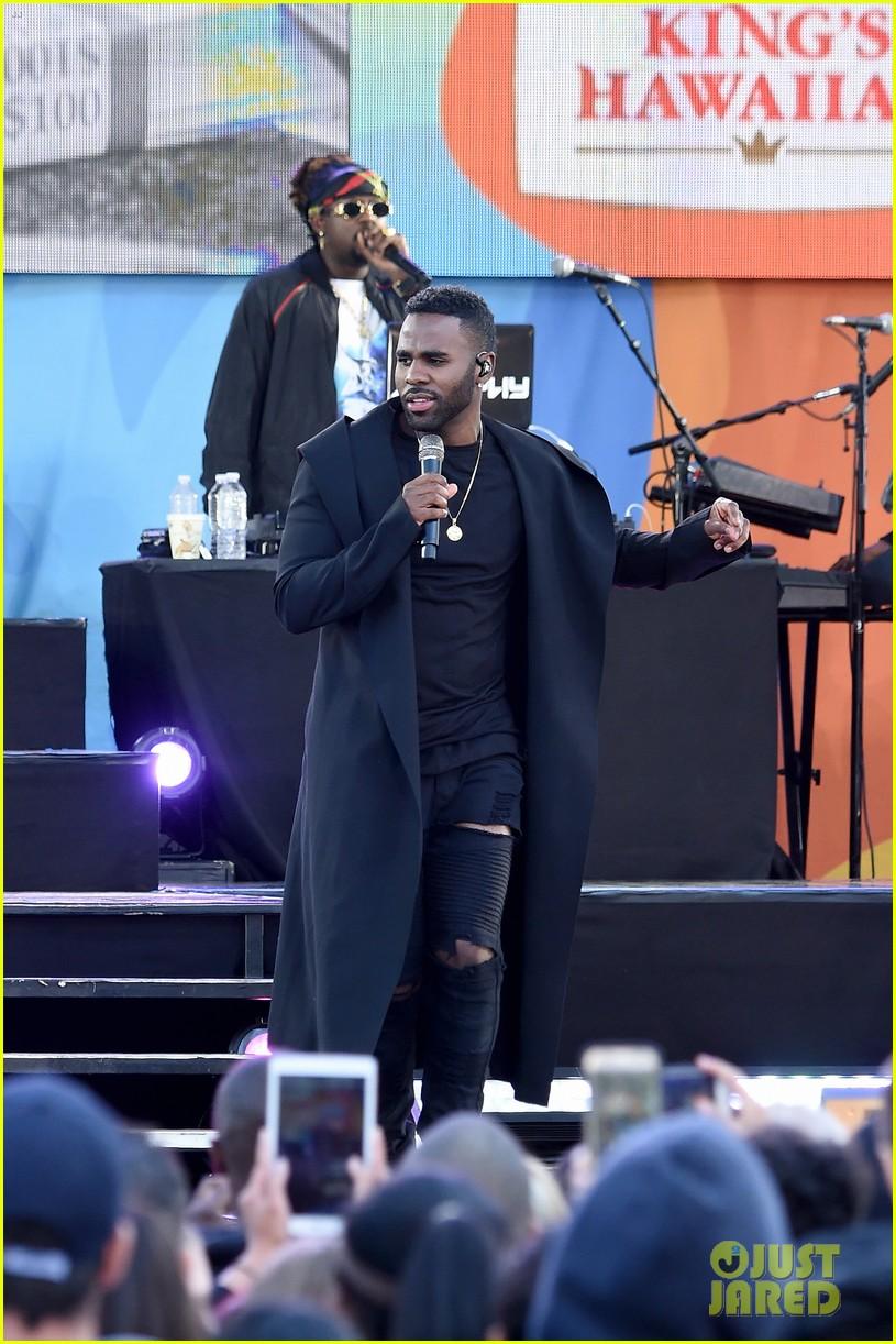 jason derulo debuts new single if im lucky on gma watch lyric video 013949057