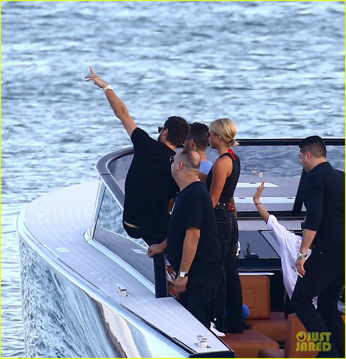 scott disick and sofia richie flaunt pda on a boat with friends2 503963030