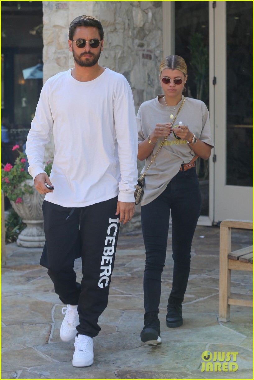 scott disick sofia richie step out for lunch date 053965060