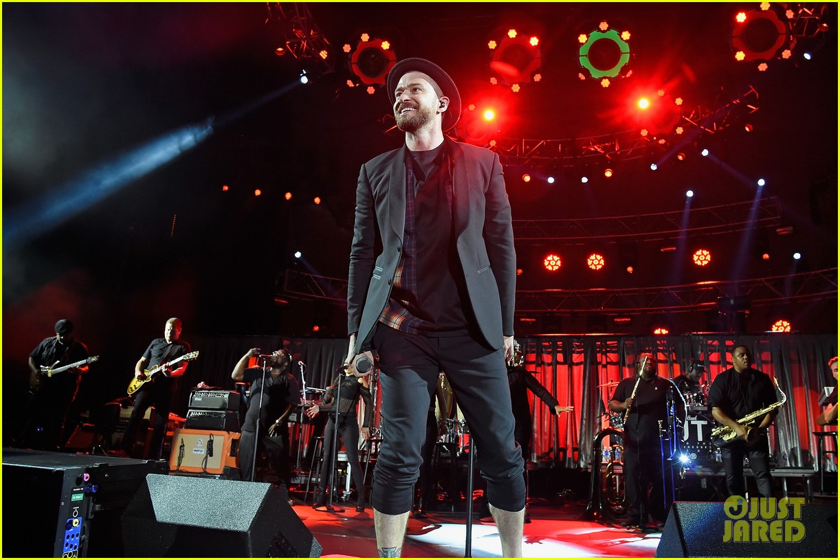 Justin Timberlake Ariana Grande More Unite For Concert For Charlottesville Photo 3964084