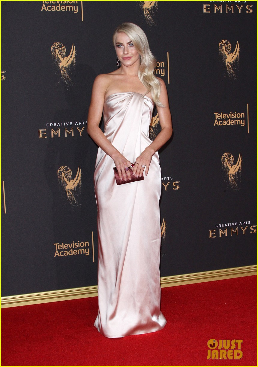newlyweds julianne hough brooks laich attend the creative emmy awards 2017 013953929