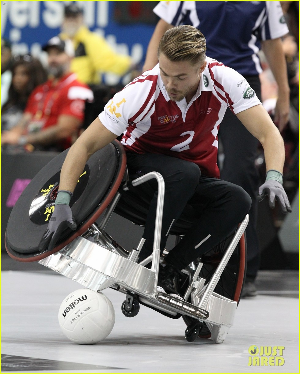 derek hough competes in prince harry s invictus games 023965907