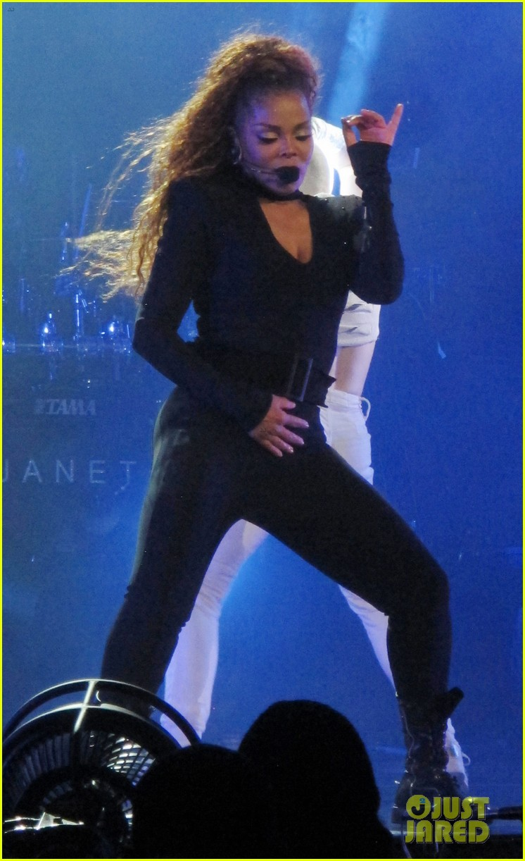 Janet Jackson  Tour Set List