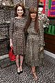 ellie kemper zosia mamet buddy up at kate spade new york leopard pop up shop 09