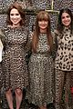 ellie kemper zosia mamet buddy up at kate spade new york leopard pop up shop 13