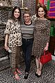 ellie kemper zosia mamet buddy up at kate spade new york leopard pop up shop 15