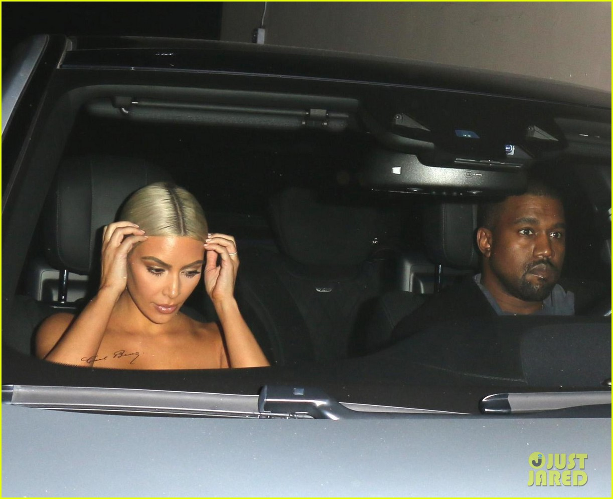 kim kardashian kanye west date night 013956326