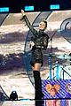 miley cyrus sparkles on stage at iheartradio music festival. 18