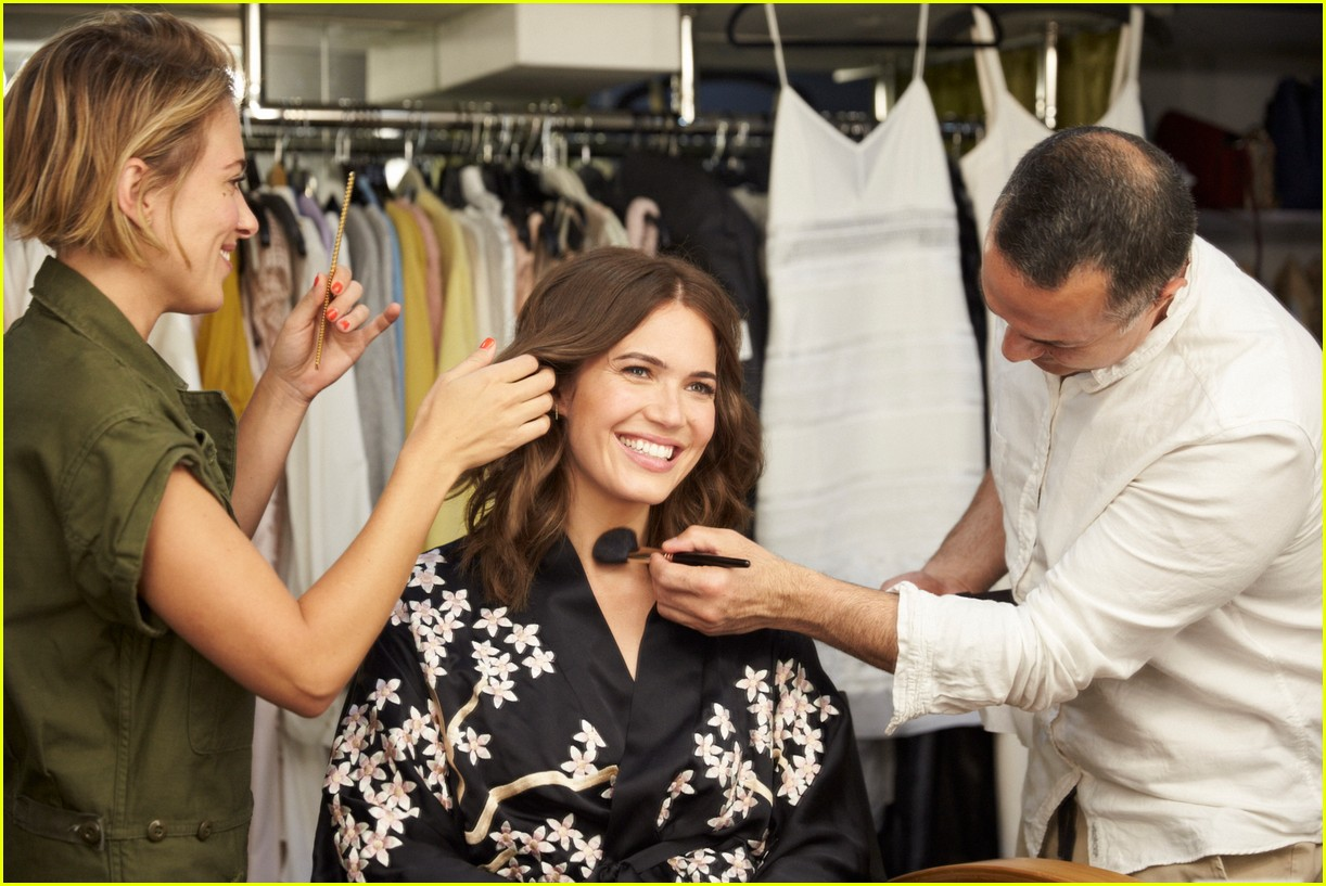 mandy moore is the new face of garnier 013957137