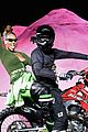 rihanna closes the fenty x puma fashion on a motorcycle 03