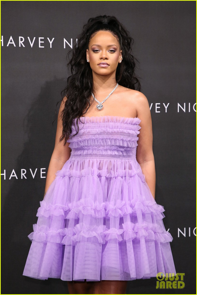 rihanna fenty beauty launch london 063960956