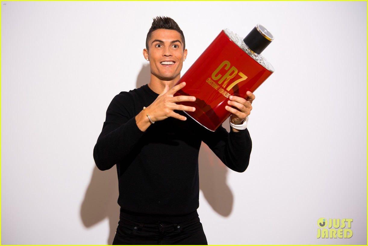 cristiano ronaldo fragrance launch event 073954745
