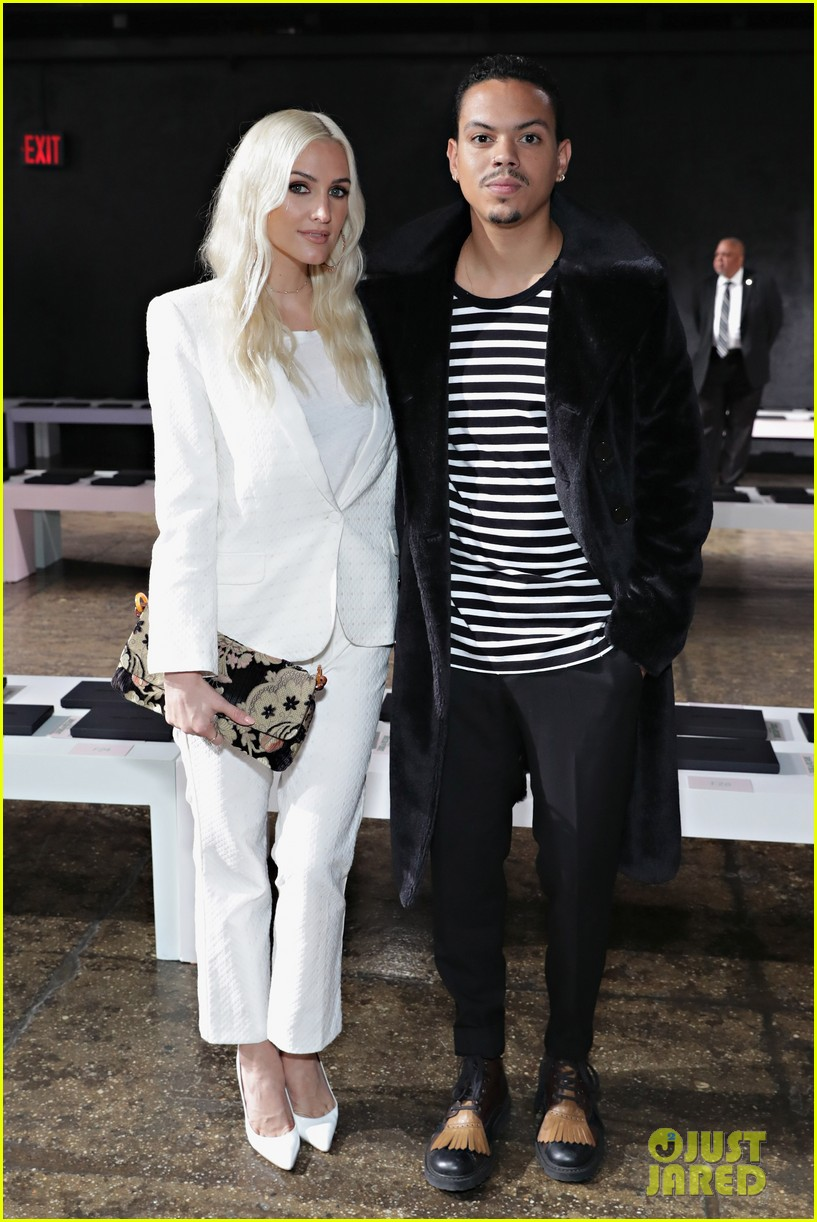 ashlee simpson and evan ross couple up for nyfw zadig voltaire nyfw show 063955526