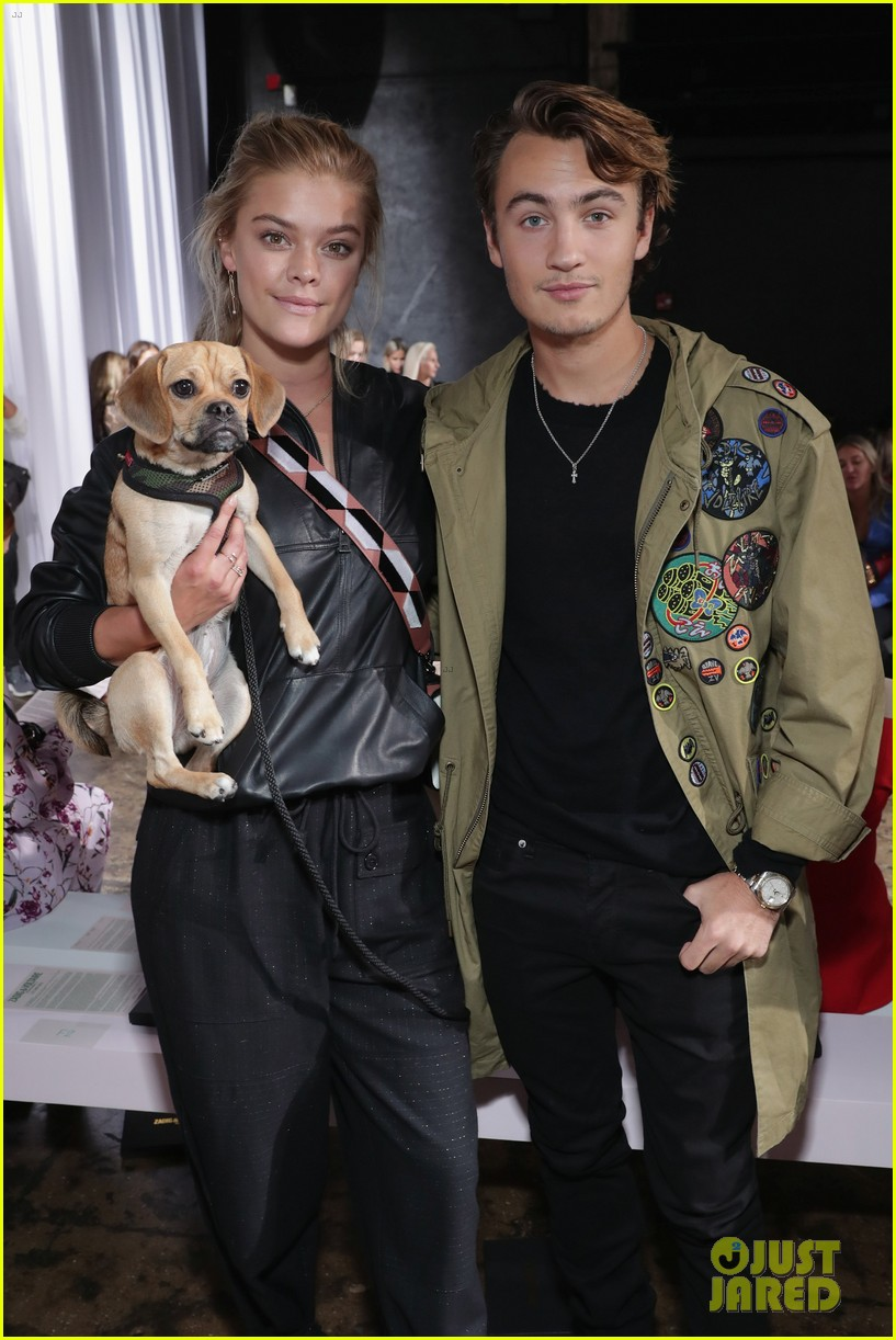 ashlee simpson and evan ross couple up for nyfw zadig voltaire nyfw show 123955532
