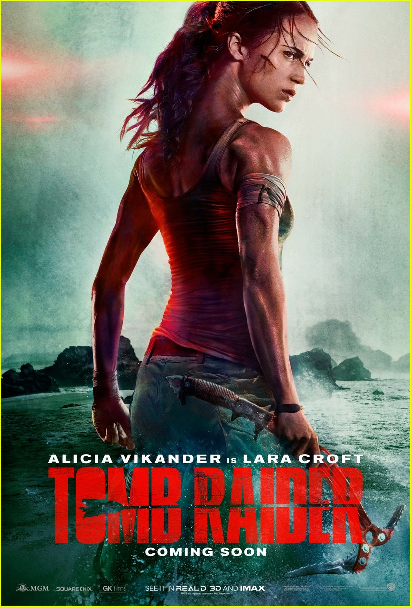 alicia vikander in tomb raider first poster footage 023960189