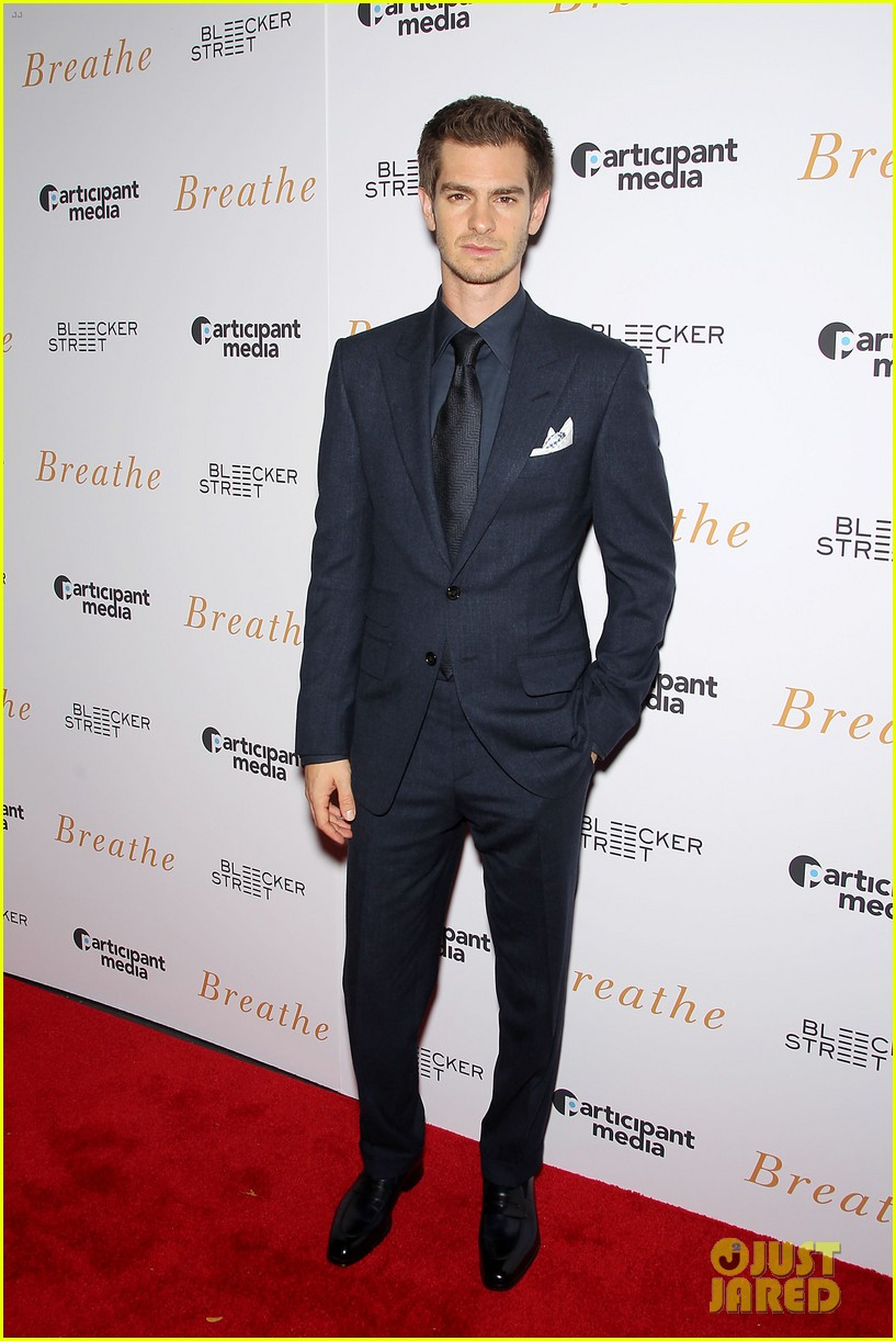 andrew garfield claire foy breath screening nyc 053970334