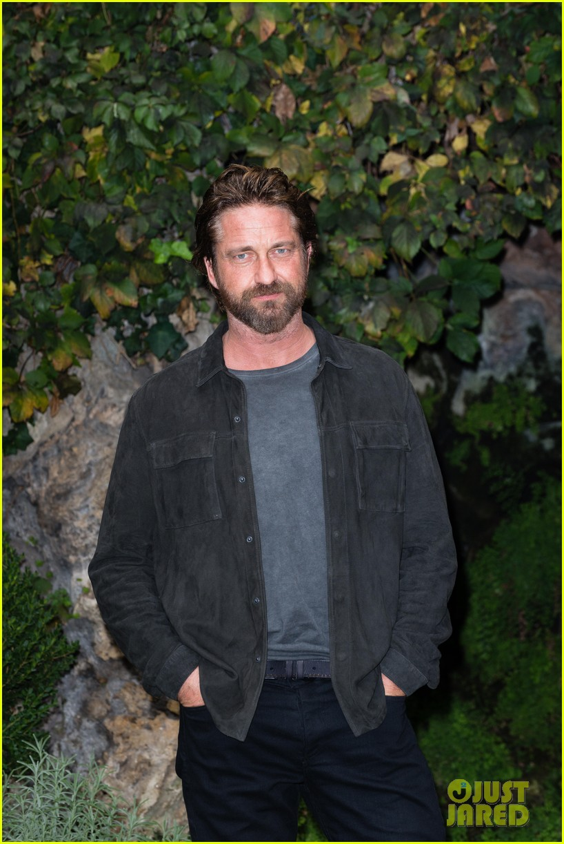 gerard butler rome photo call geostorm 203976286