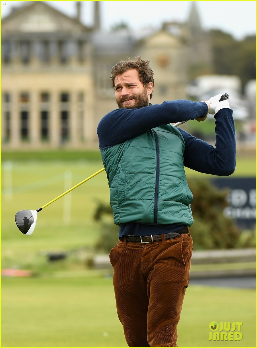 jamie dornan plays in alfred dunhill golf championship 033968654