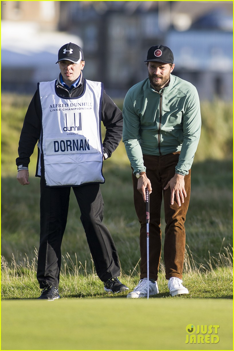 jamie dornan plays in alfred dunhill golf championship 283968679