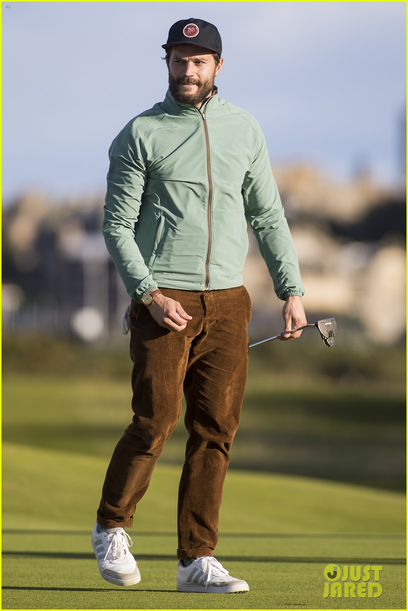 jamie dornan plays in alfred dunhill golf championship 333968684