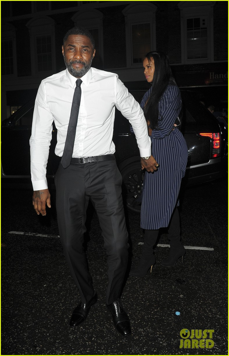 idris elba girlfriend sabrina dhowre couple up at day of the girl gala 073971397