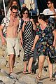 michael fassbender alicia vikander host beach party 01
