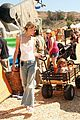 jaime king takes birthday boy james knight pumpkin picking 07