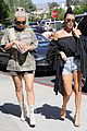kim kourtney kardashian go shopping for baby essentials 07