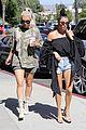kim kourtney kardashian go shopping for baby essentials 20