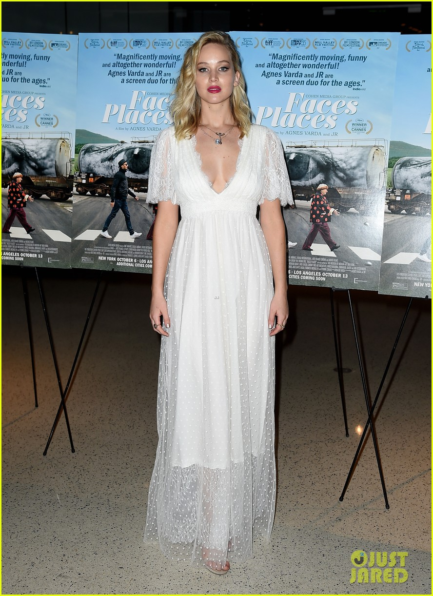 jennifer lawrence joins angelina jolie at faces places premiere in weho 013971287
