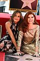 debra messings will and grace co stars support her at hollywood walk of fame ceremony 06