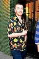 sam smith hangs out with friends ahead of his snl performance 03