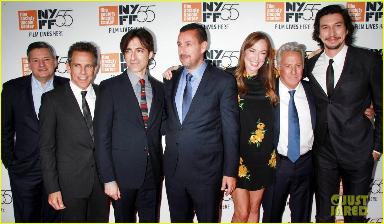 ben stiller daugther ella join adam driver the meyerowitz stories cast at nyc premiere 043966963