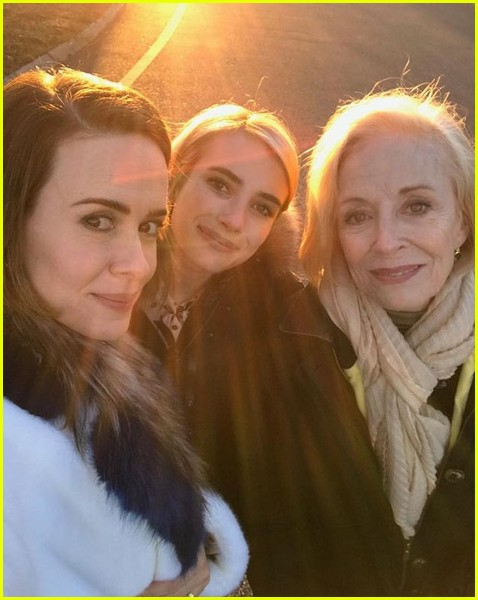 american horror story cast celebrates thanksgiving together 023992038