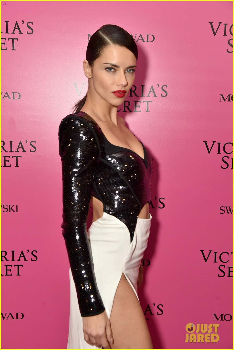 lily aldridge adriana lima candice swanepoel victorias secret fashion show after party 093990816